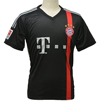 FC Bayern Munich Short Sleeves Away Soccer Jersey Football Shirts (M)
