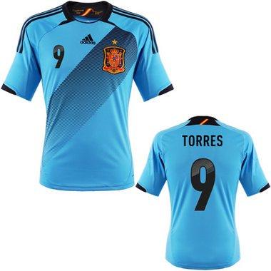 Spanien Torres Trikot Away 2012, Größe: XL
