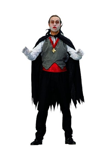 Adult Dracula Cape and Vest Costume