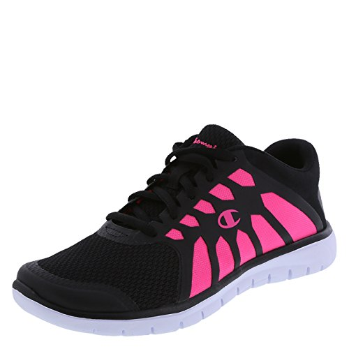 Champion Women's Dark Pink/Black Gusto Cut-Out Runner 9 M US (Champion Womens Footwear compare prices)
