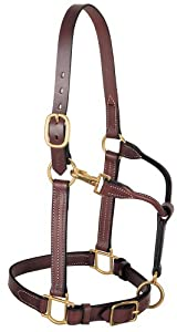 Weaver Leather 1-Inch 3-in-1 All Purpose Halter, Mahogany