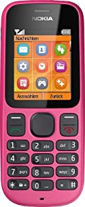 Nokia 100  Festival Pink (4,6 cm (1,8 Zoll) Display, Radio) deutsche Version