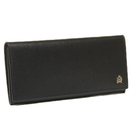 (ダンヒル)DUNHILL メンズ 財布 DUNHILL L2S810A BELGRAVE 長財布 BLACK[並行輸入品]