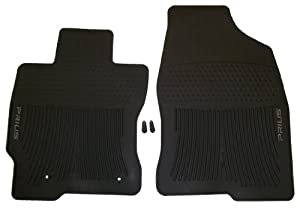 Genuine Toyota Accessories PT908-4700W-02 Front All-Weather Floor Mat - (Black), Set of 2