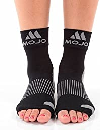 Mojo Compression Plantar Fasciitis Foot Sleeves - XFirm Graduated Support