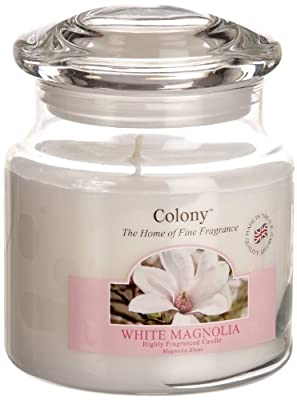 Colony Wax Lyrical Homescents White Magnolia Candle Jar from Wax Lyrical