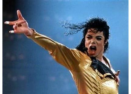 マイケル・ジャクソン 2011オリジナルサインキーホルダー黒 MJ-KEY-B