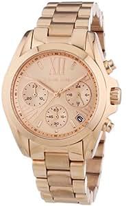 Michael Kors Damen-Armbanduhr Chronograph Quarz Edelstahl beschichtet MK5799