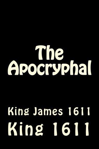 The Apocryphal: King James 1611