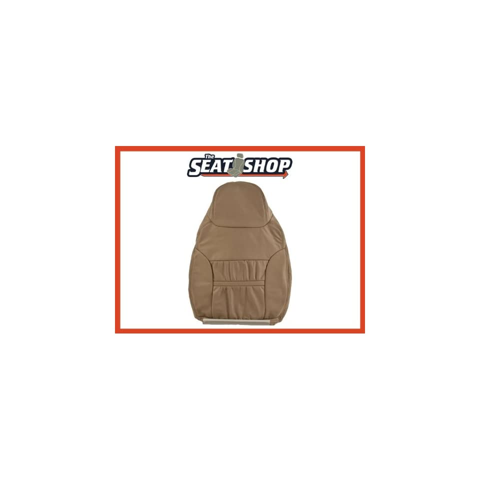 00 01 Ford Excursion Med Parchment Leather Seat Cover RH top