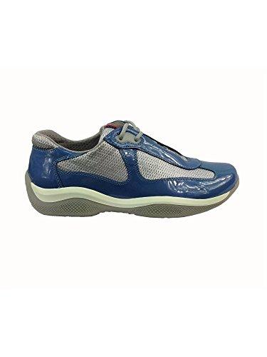 Sneakers Prada Donna Vernice Onda e argento PR3163ONDAARGENTO 35EU