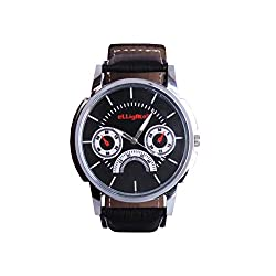 Elligator Analogue Black Dial Men's Watch - ELW507_Watch