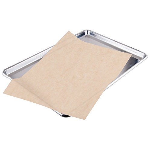 2dayShip Quilon Parchment Paper Baking Liner Sheets, Unbleached Brown , 12 X 16 Inches, 200 Count (Parchment Paper Chlorine Free compare prices)