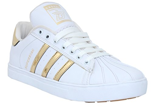 53% OFF on Black Tiger Men s Synthetic Leather Casual Shoes Superstar  8074-G-White on Amazon  a976f7e07