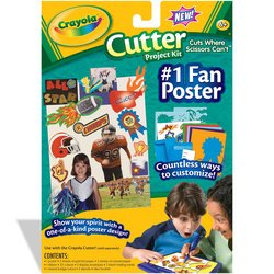 Crayola: Cutter Project Kit - Fan Poster