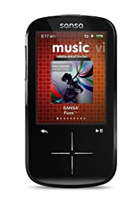 SanDisk Sansa Fuze+ 16GB MP3 with FM Radio - Black