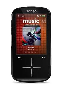 SanDisk SDMX20R-004GK-E57 Sansa Fuze+ Lecteur MP3 Ecran LCD 2,3 4Go Noir