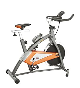Body Sculpture BC4620 Studio Exercise Bike - Orange/Grey