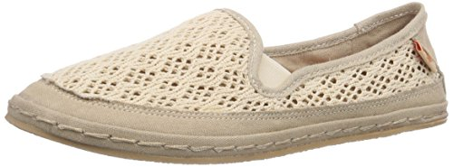 Rocket Dog - WHEELIE, espadrillas da donna, beige (beige (lovely crochet)), 38