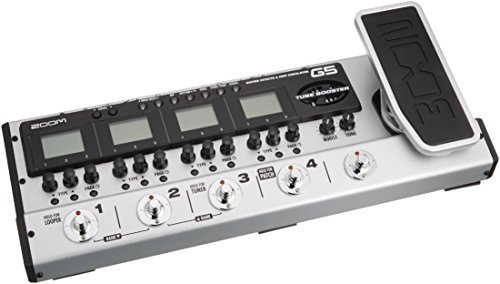 ZOOM ギター用エフェクト・アンプシミュレーターG5