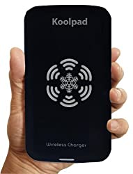 Koolpad Qi Wireless Charger Pad for All Qi Compatible Devices Including Samsung Phones with Receivers (Black)