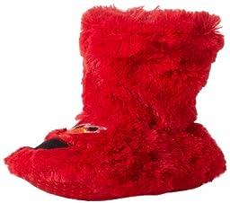 Sesame Street Elmo Sock Slipper (Infant/Toddler),Red,S (1/2 M US Infant)