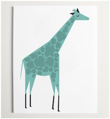 ModernPOP Giraffe - Blue