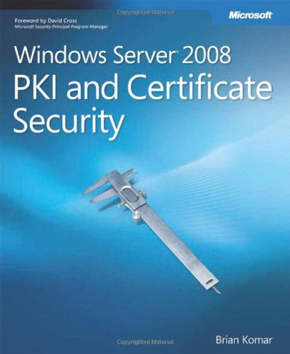 Windows Server 2008 PKI and Certificate Security (PRO-Other)
