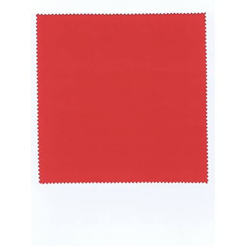 コネクト システムクロス メガネ拭きK 15×15cm レッド マイクロファイバークロス