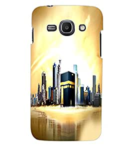 ColourCraft Makkah Madina Back Case Cover for SAMSUNG GALAXY ACE 3
