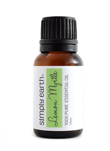 Lemon Myrtle Essential Oil by Simply Earth - 15 ml, 100% Pure Therapeutic Grade (Lemon Myrtle Oil compare prices)