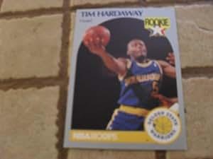 1990/1991 Nba Hoops Tim Hardaway #113 Rookie Basketball Card