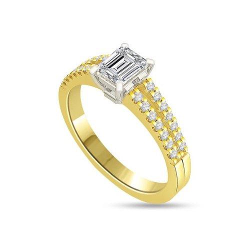 040ct-GSI1-Solitr-Diamant-Verlobungsring-fr-damen-mit-Smaragdschliff-Diamanten-in-18kt-750-Gelbgold