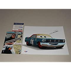 Buy Autographed Mario Andretti Picture - 8x10 Cars Disney Pixel Ip! Proof - PSA DNA Certified - Autographed NASCAR Photos by Sports Memorabilia