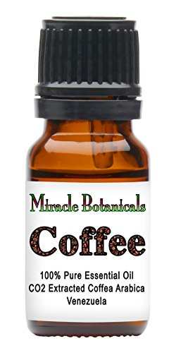 Miracle Botanicals CO2 Extracted Coffee Essential Oil - 100% Pure Coffea Arabica - 10ml or 30ml Sizes - Therapeutic Grade 10ml