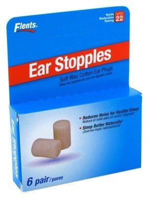 Flents Ear Stopples 6S Soft Wax-Cotton Ear Plugs (3 Pack) (Cotton Ear Plugs compare prices)