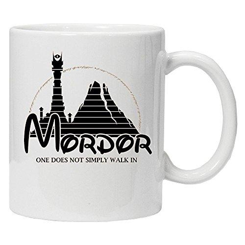 One non basta Walk in Mordor-Il Signore degli Anelli-Tazza in ceramica