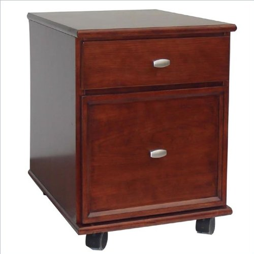 Home Styles 5532-01 Hanover Mobile File, Cherry Finish