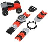 LEGO Kids 4271021BLK Racers Watch With Racecar
