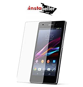 Insta Seller Branded Perfect Fitting 2.5D Crystal Clear 9H Ultra Thin Curve Edge Tempered Glass Screen Protector For Sony Xperia C