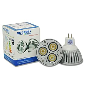 LED Dimmable 3x3w 9w LED Mr16 35w-50w Replacement Flood 60 Soft White Light Bulb Warm White. The Bulbs Can Work with Ac 12v and Dc 12v , If You Want to Have Dimmable Function , Please Use Dc 12v Transformer Driver for Dimmer .