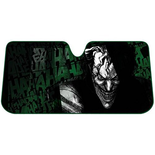 The-Joker-Laughing-Batman-DC-Comics-Auto-Car-Truck-SUV-Vehicle-Universal-fit-Front-Windshield-Sunshade-Accordion-Sun-Shade-FREE-SHIPPING-by-LA-Auto-Gear