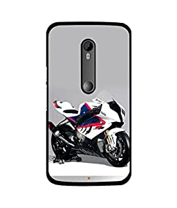 instyler DIGITAL PRINTED BACK COVER FOR MOTO X PLAY