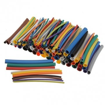 144Pcs 12 Color 6 Size Heat Shrink Tube Kit Sleeve