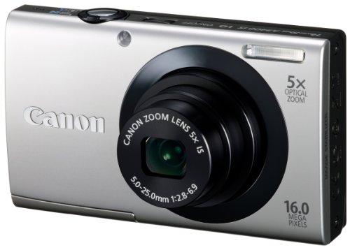 Canon デジタルカメラ PowerShot A3400IS シルバー 光学5倍ズーム タッチパネル PSA3400IS(SL)