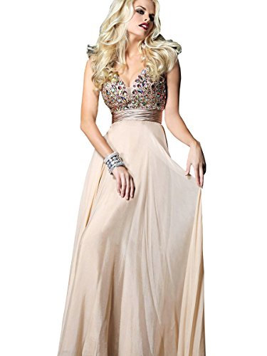 Nymph Dress Prom Dresses Formal Dresses Deep V-Neck Sleeveless Evening Dress