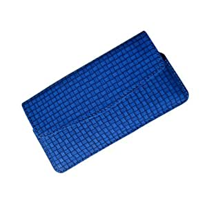 i-KitPit : PU Leather Flip Pouch Case Cover For Oppo Yoyo (BLUE)