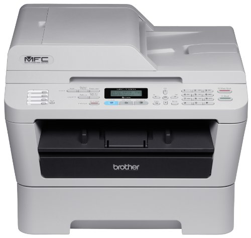 Brother Printer MFC7360N Monochrome Printer with Scanner, Copier & Fax and built in Networking