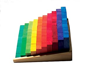 Grimm's Toys Stepped Counting Blocks marca Grimm's - BebeHogar.com
