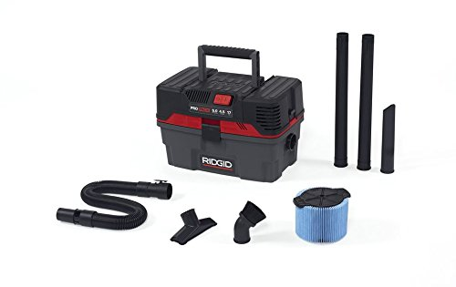 Ridgid 50318 4500RV ProPack Wet/Dry Vacuum, 4.5 gal, Red (Rigid Portable Vacuum compare prices)